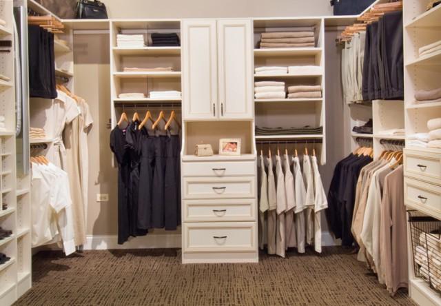 Walk In Closet Organizer Plans