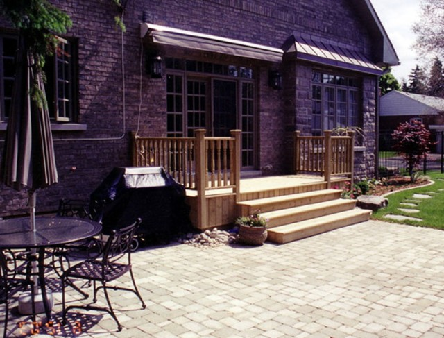 Wood Patios And Decks