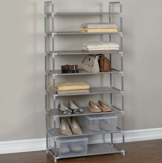 12x34 Closet Shoe Shelves