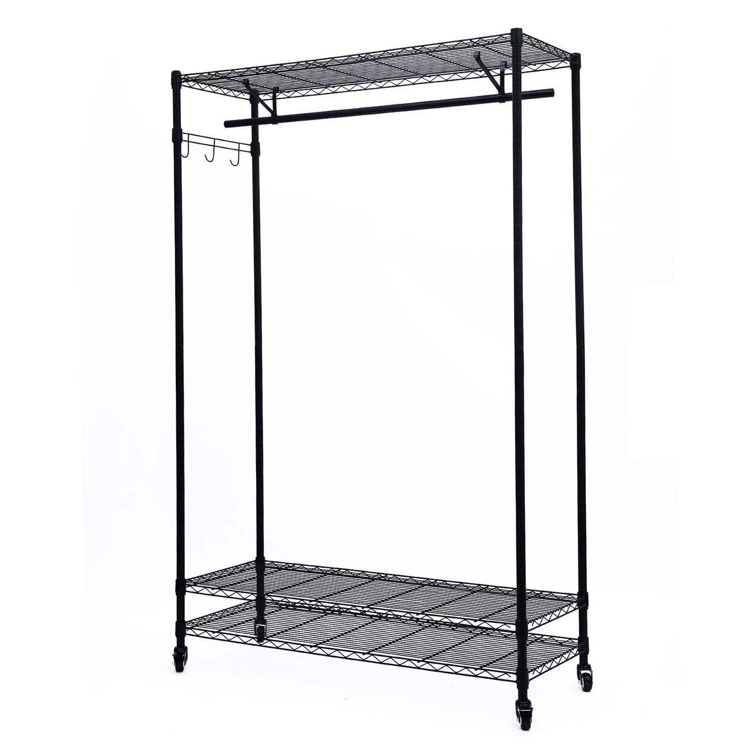 3 Shelf Hanging Closet Organizers