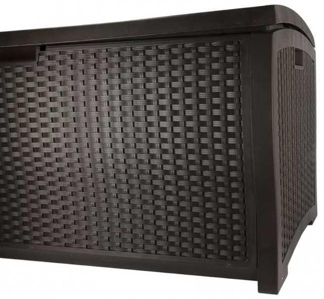 99 Gallon Suncast Deck Box With Seat