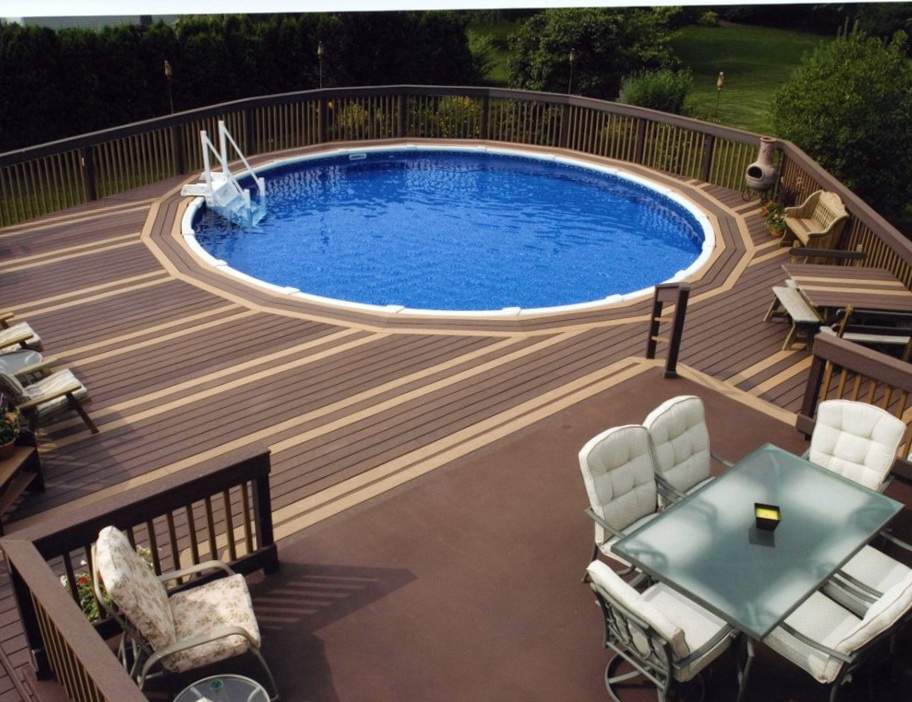 Above Ground Pools With Decks Installed Prices
