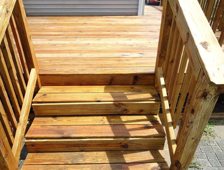 Alternatives To Power Washing A Deck