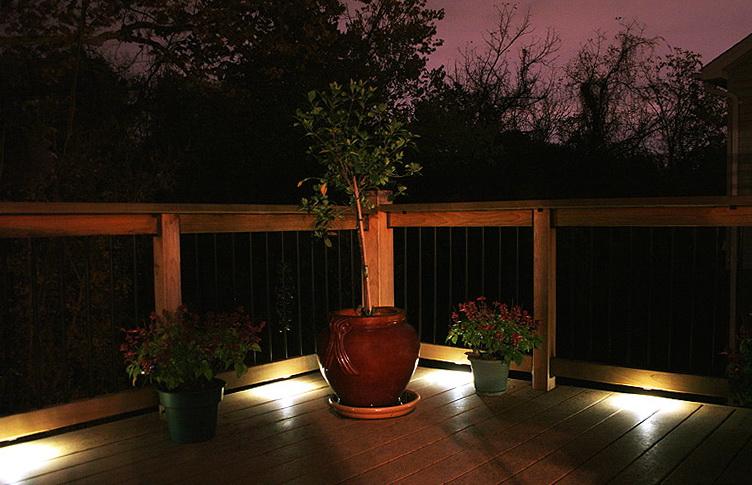 Aluminum Deck Railing Led Strip Lights
