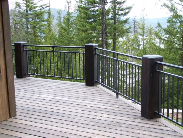 Aluminum Railings For Decks In Gastonia Nc