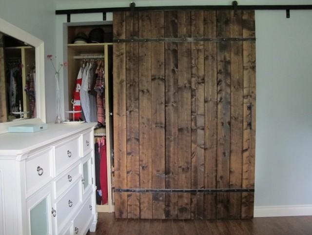 Barn Door Closet Diy