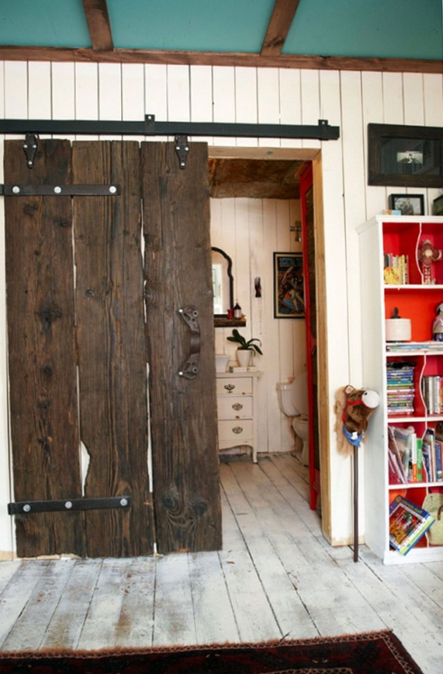 Barn Wood Closet Doors