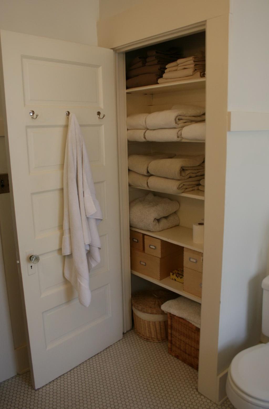 Bathroom Linen Closet Design