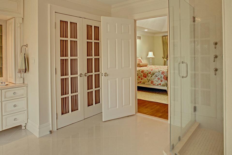 Bathroom Linen Closet Doors