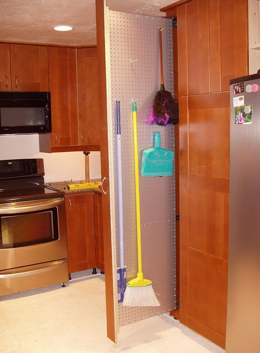Broom Closet Organizer Ideas
