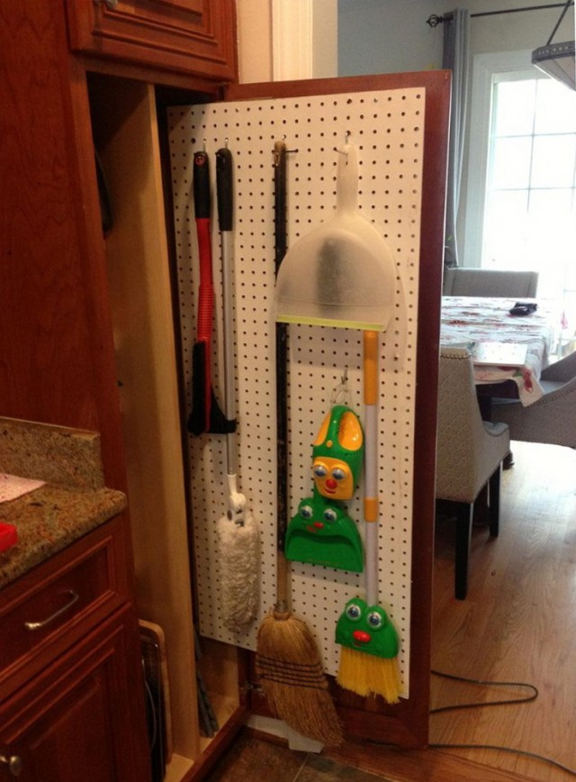 Broom Closet Organizer Tips