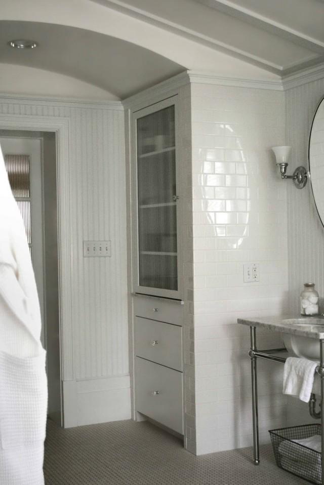 Built In Bathroom Linen Closet