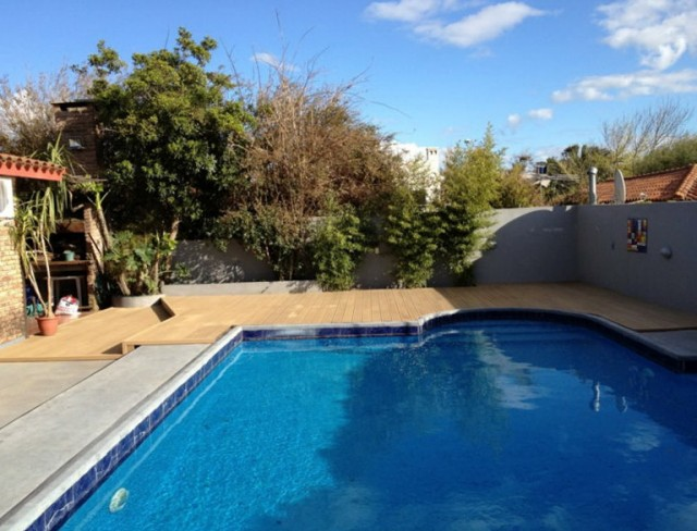 Cheap Composite Decking Material