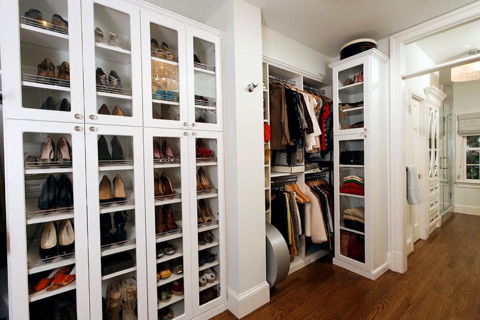Closet Door Shoe Storage