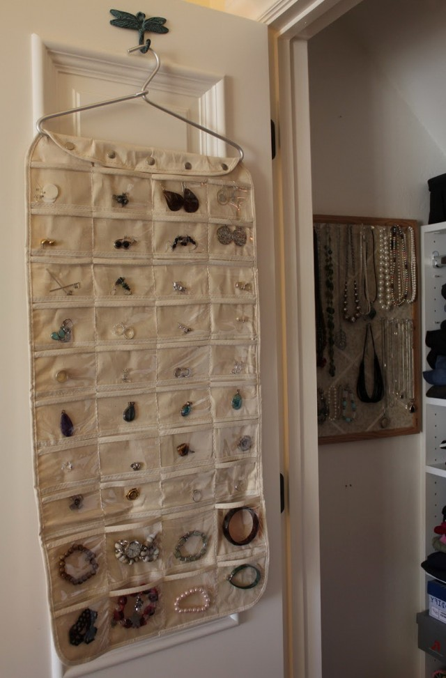 Closet Hanging Jewelry Organizers