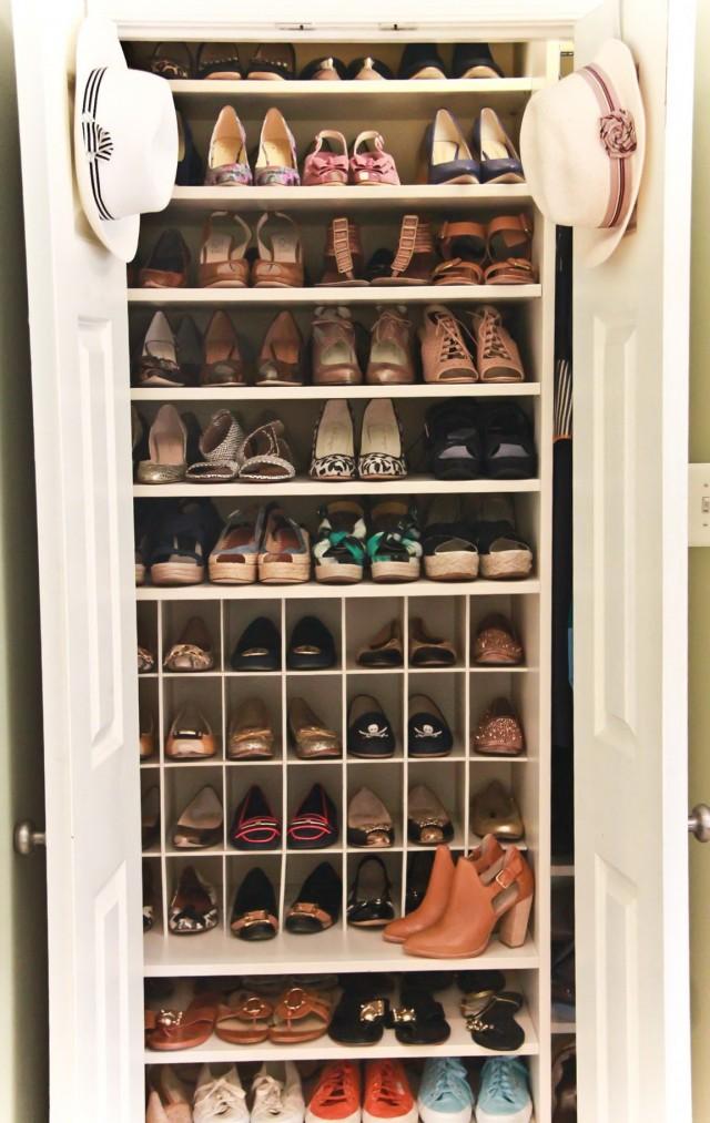 Closet Shoe Shelves Plans