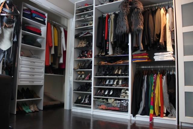 Custom Closet Shoe Shelves