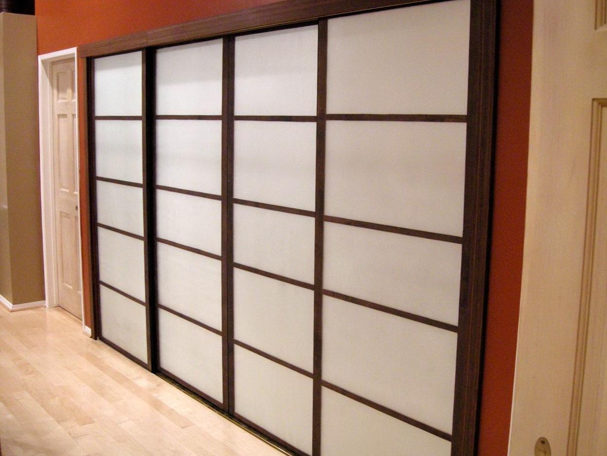 Custom Wood Closet Doors