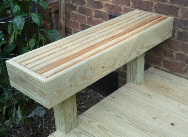 Deck Bench Ideas Plans