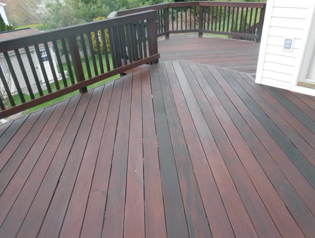 Deck Cleaning And Staining Cincinnati