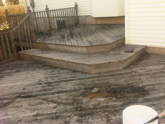 Deck Cleaning Solution Pressure Washer