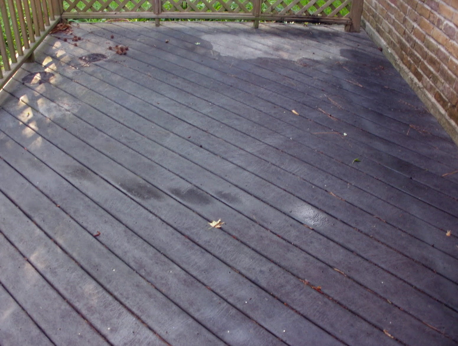 Deck Cleaning Solutions Homemade