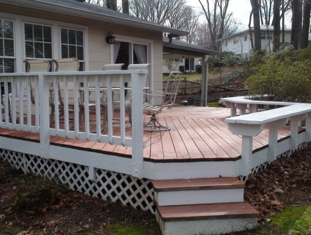 Deck Floor Covering Ideas
