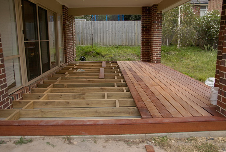 Deck Over Concrete Patio Design