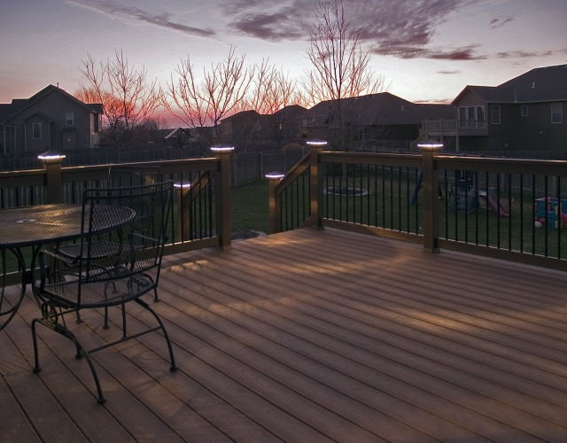 Deck Post Lighting Kits