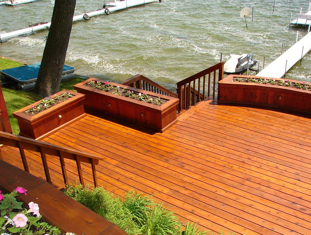Deck Power Washing And Staining