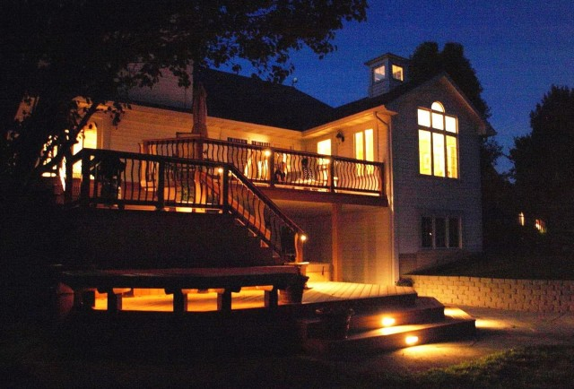 Deck Railing Lighting Solar