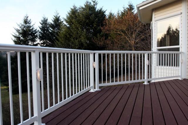 Deck Railing Lighting Systems