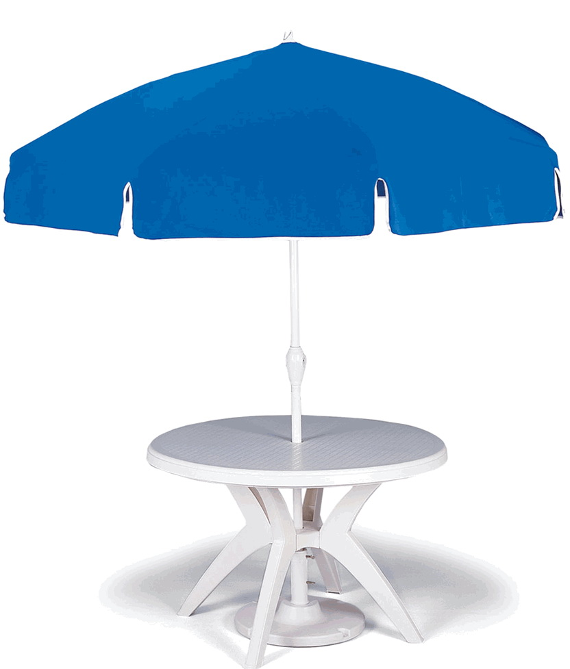 Deck Table And Chairs Umbrella