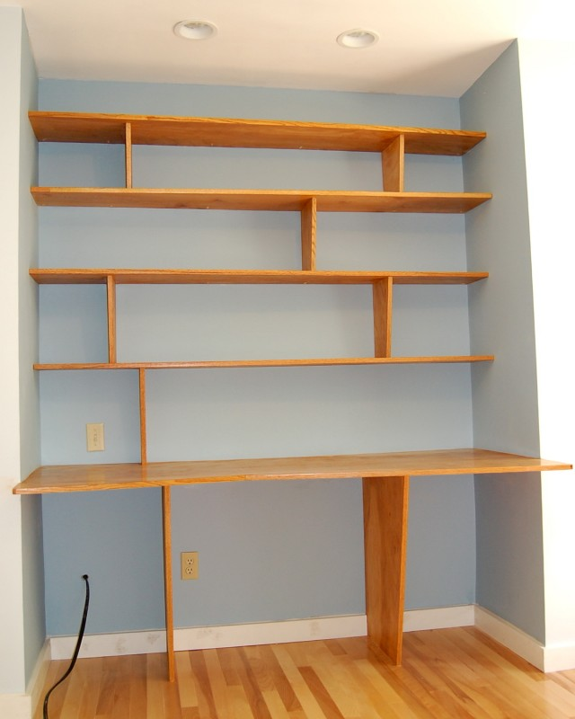 Desk In Closet Design