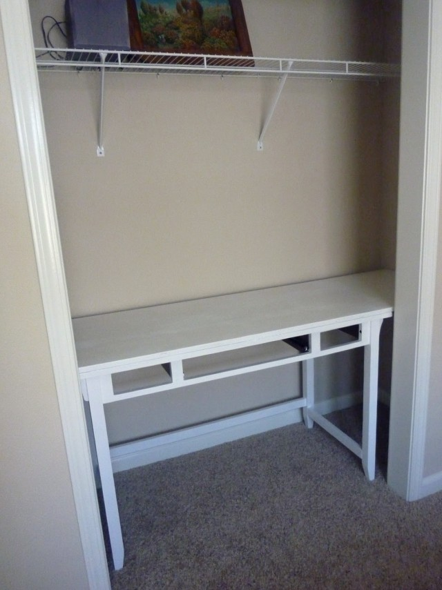 Desk In Closet Pictures