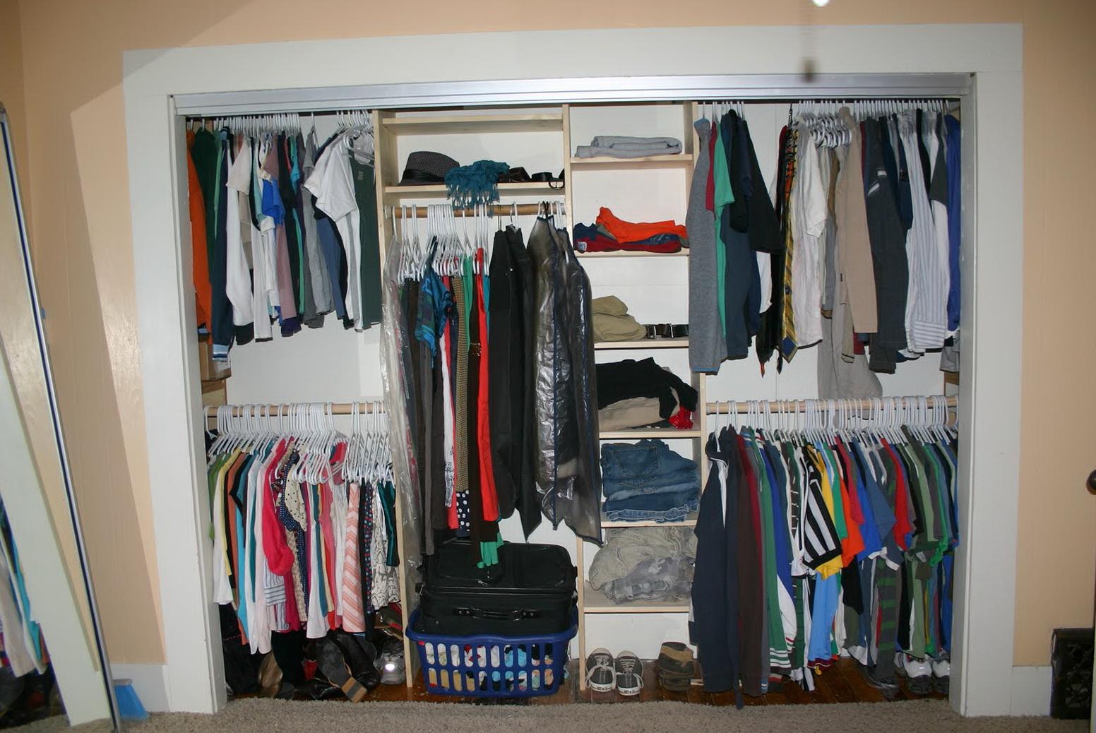 Diy Purse Closet Organizer
