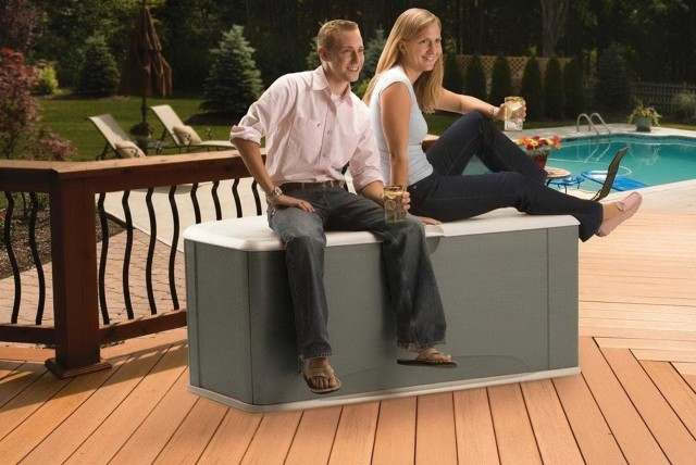 Extra Large Deck Box With Seat