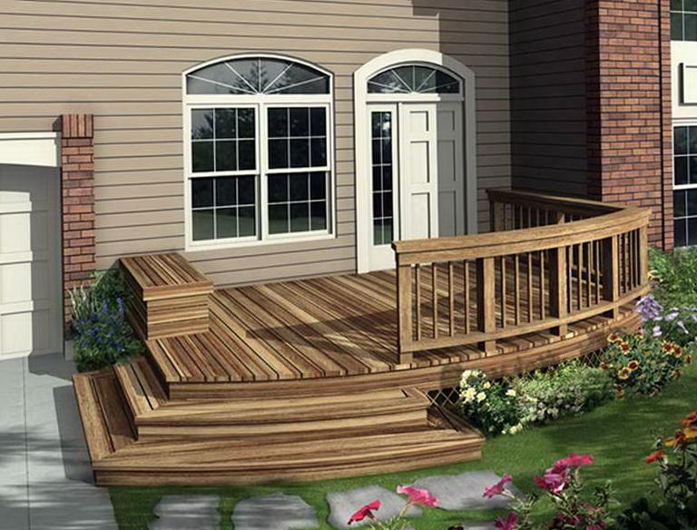 Front Porch Decks Ideas