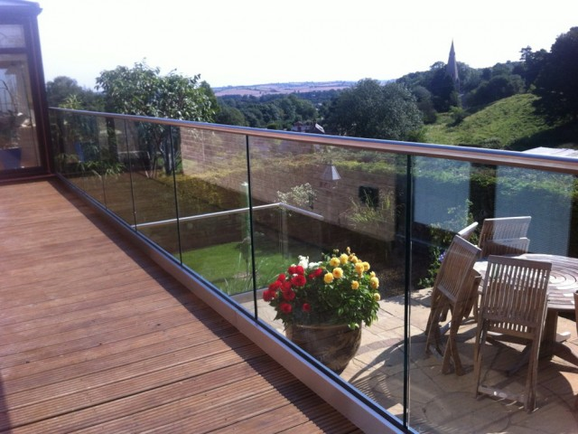 Glass Deck Railing Systems Uk