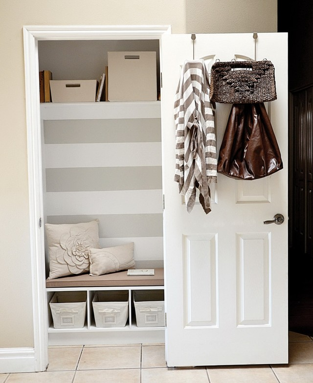 Hall Closet Storage Ideas