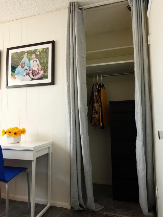 Hanging Closet Doors From Ceiling