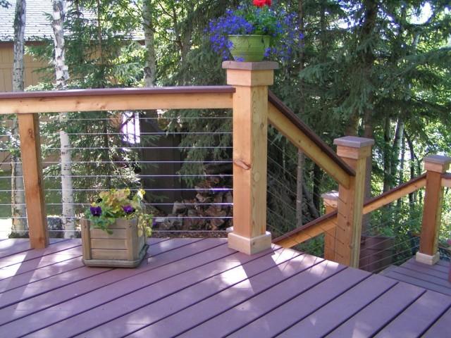 Horizontal Deck Railing Code