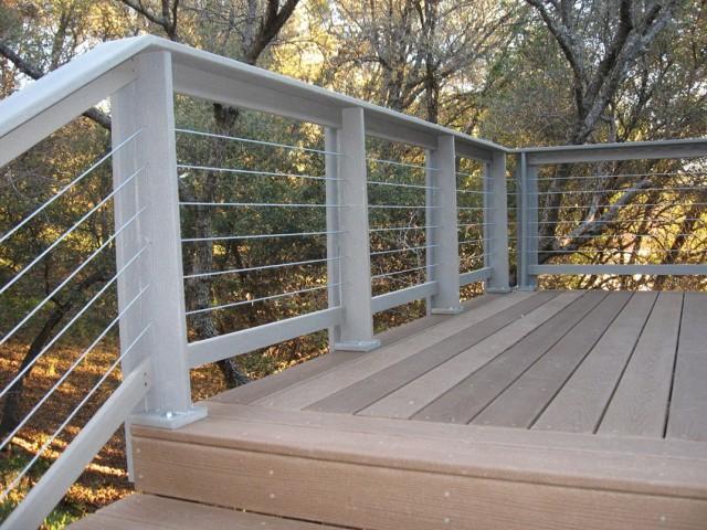 Horizontal Deck Railing Designs