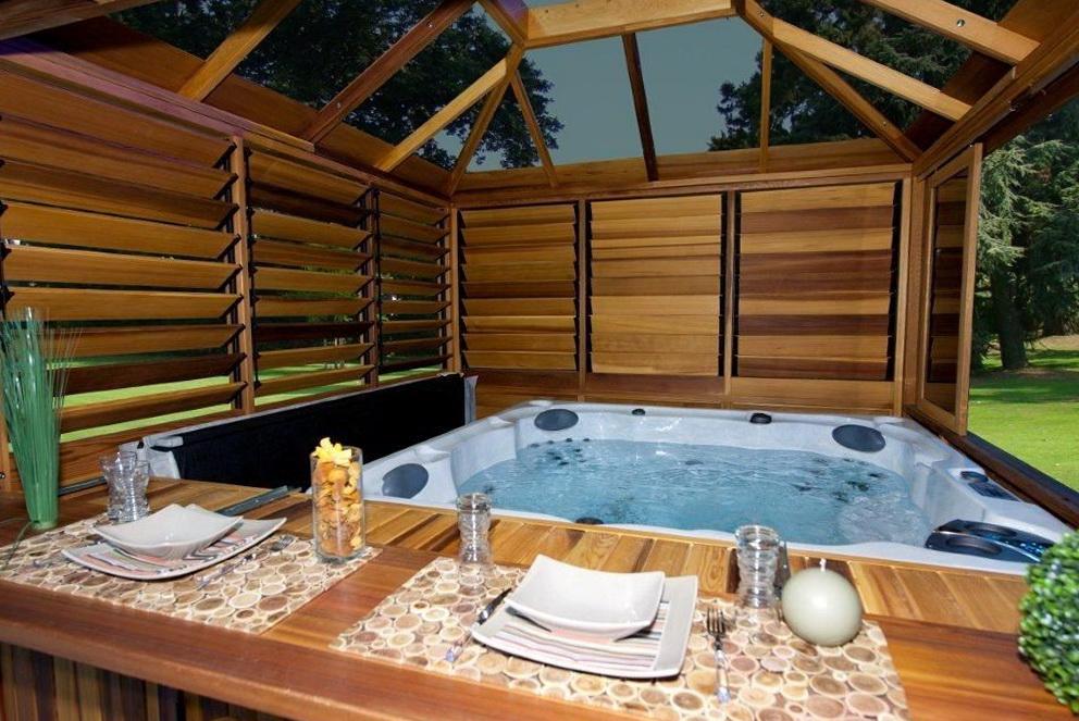 Hot Tub Decks Ideas