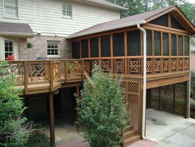 Images Of Screened In Decks