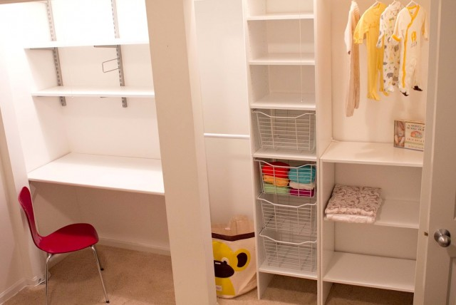 Kids Closet Shelving Ideas