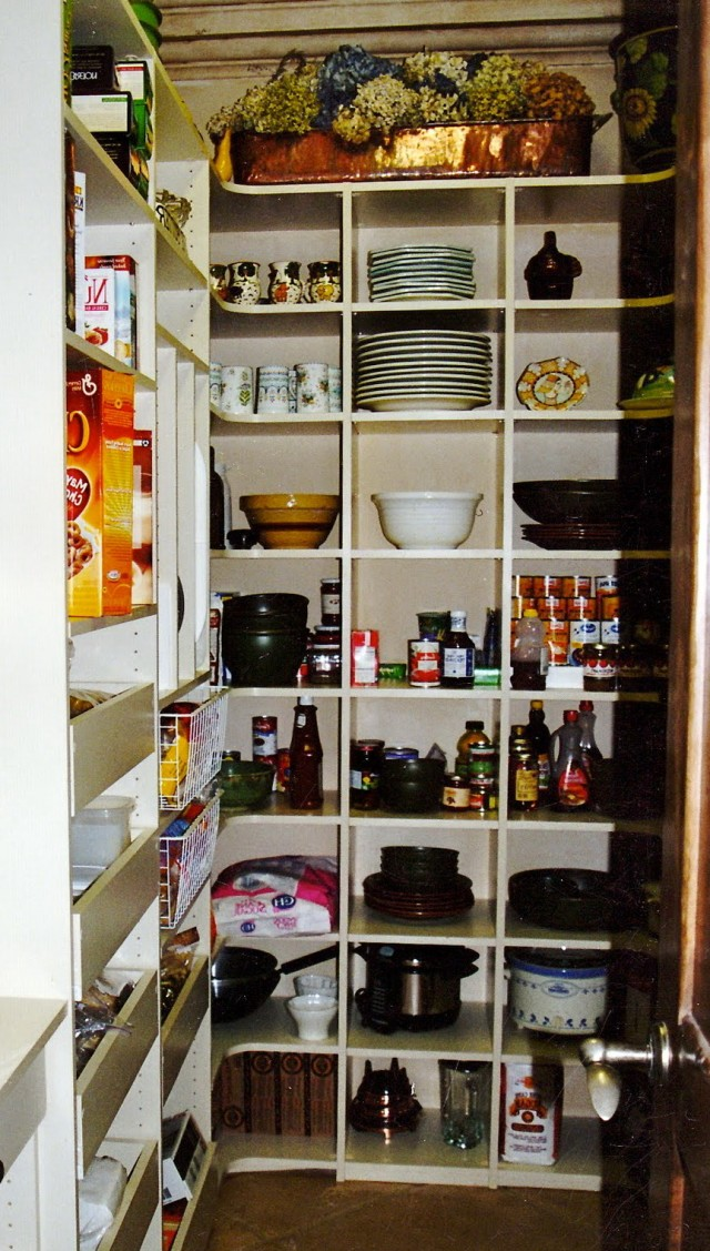 Kitchen Storage Closet Ideas