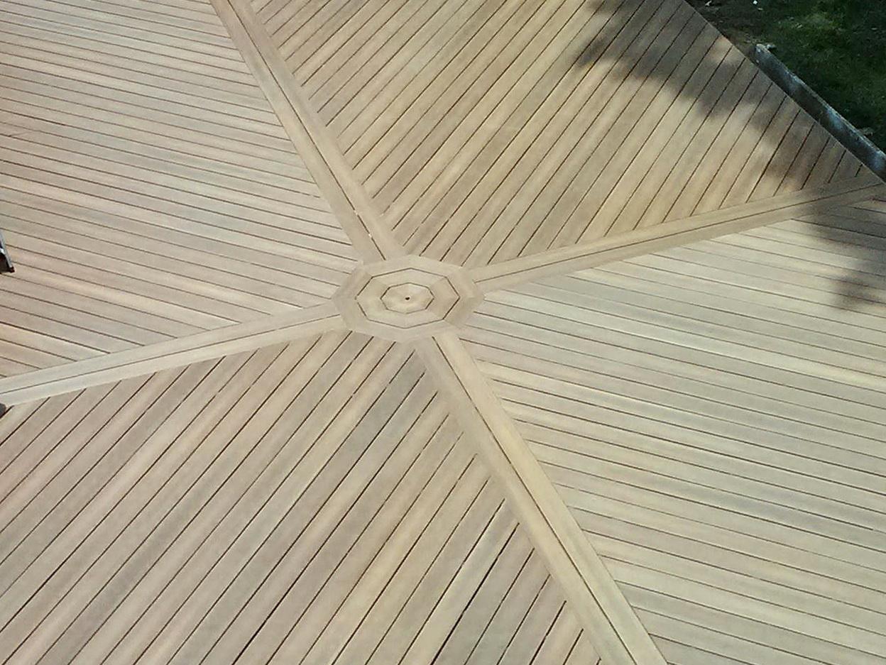 Laying Deck Boards Diagonally