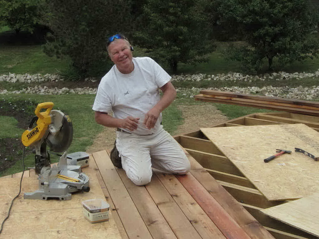 Laying Out Deck Boards