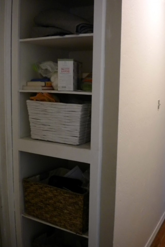 Linen Closet Design Plans